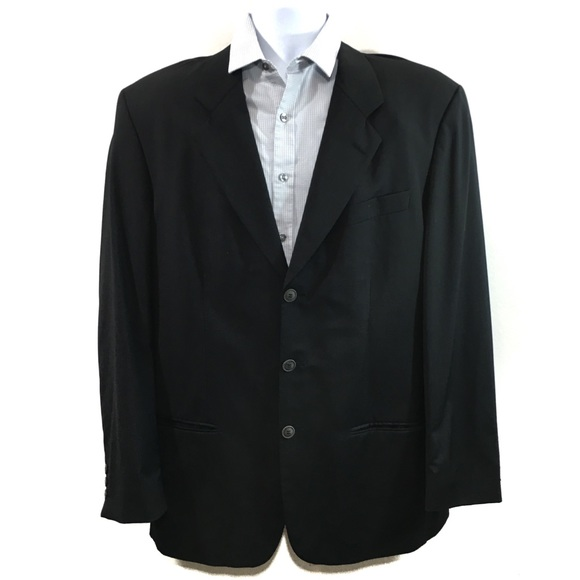 404debf1 Kenzo Suits & Blazers | Homme 100 Wool Charcoalblack Blazer Coat ...
